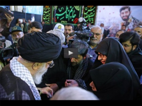 Video: What did martyr Hojaji's wife request from Ayatollah Khamenei?